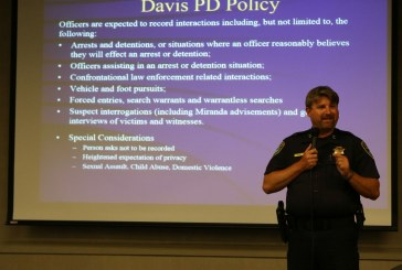 Sunday Commentary: Proposed Davis PD Body Cam Policy Draws Concerns
