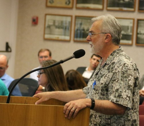 Don Saylor recently spoke at the Davis City Council meeting regarding the open space conservancy project