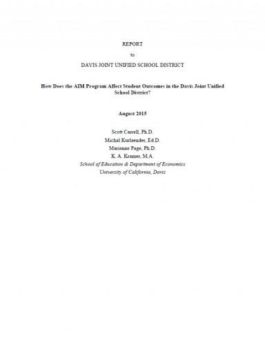 Carrell-Report