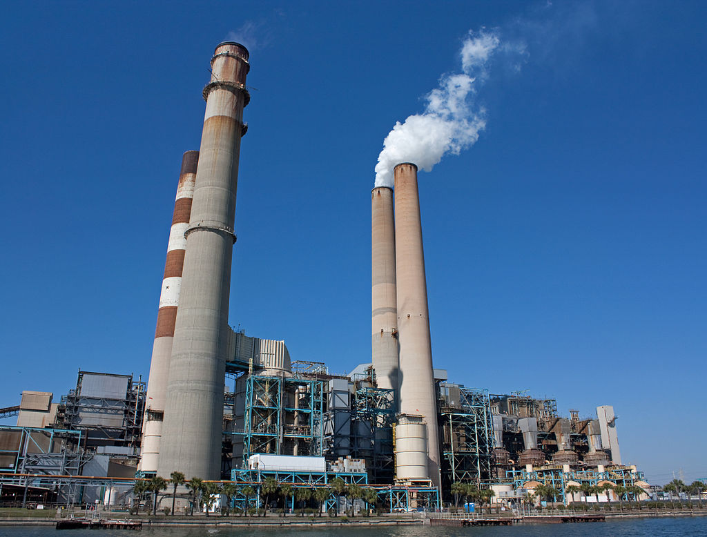 Big Bend Coal Power Station in Apollo Beach, Florida in the United States.
