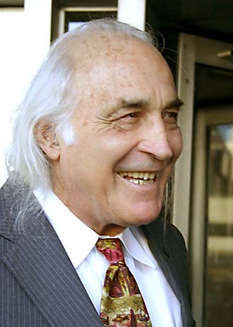 Attorney J. Tony Serra conducted closing arguments for the defense on Thursday