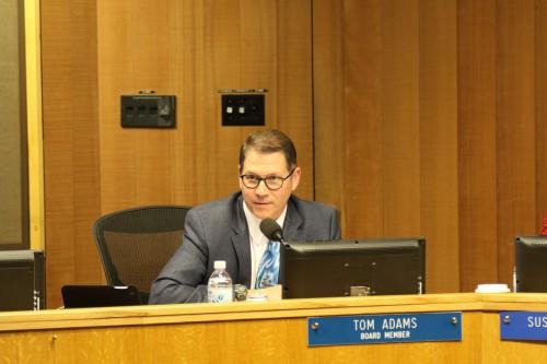 Tom Adams speaking in November