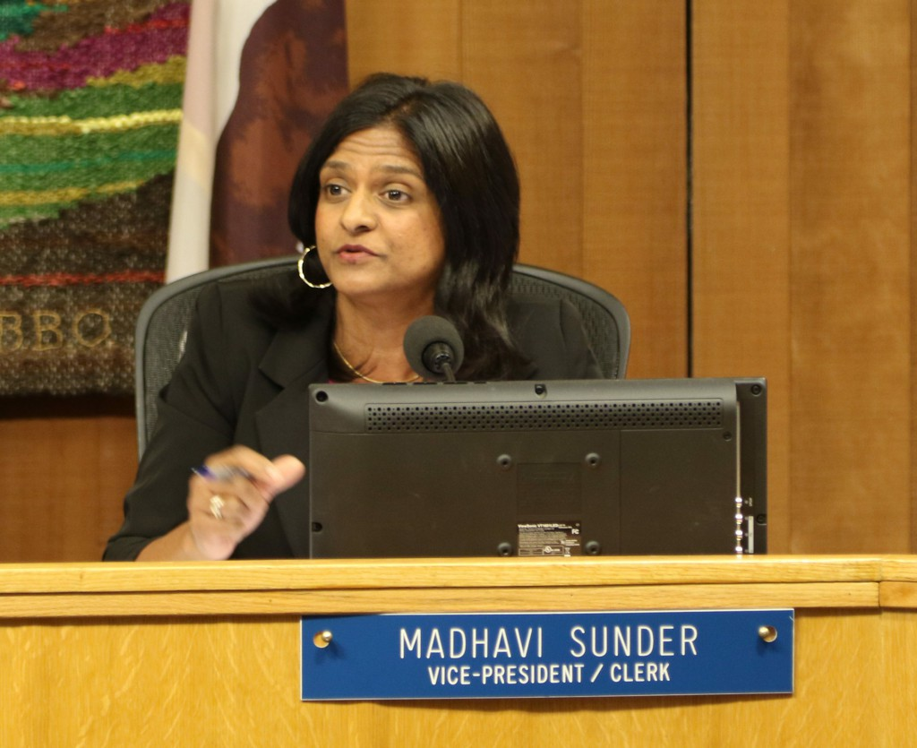 Madhavi Sunder expressed concerns in November about diversity in the AIM program under new guidelines