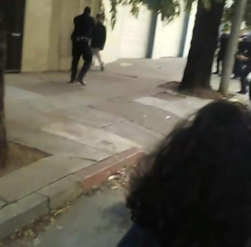 Shooting of Mario Woods from video