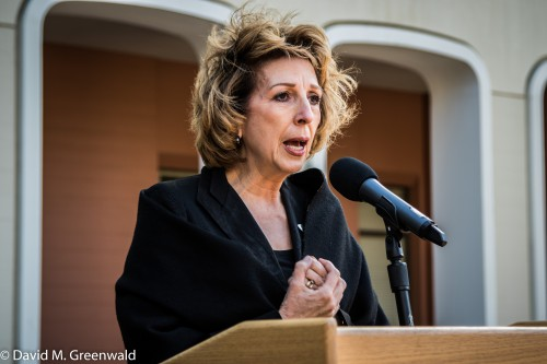 Chancellor Katehi in February