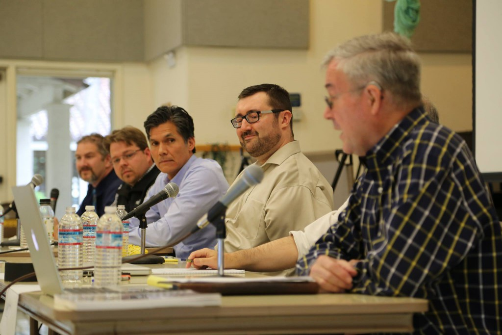 Candidates Forum on Saturday/ Photo by Eunah Cho of Davis Media Access