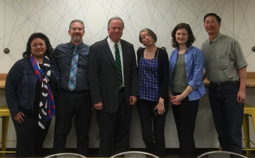 Assemblymember Bill Dodd meets with the Vanguard Editorial Board