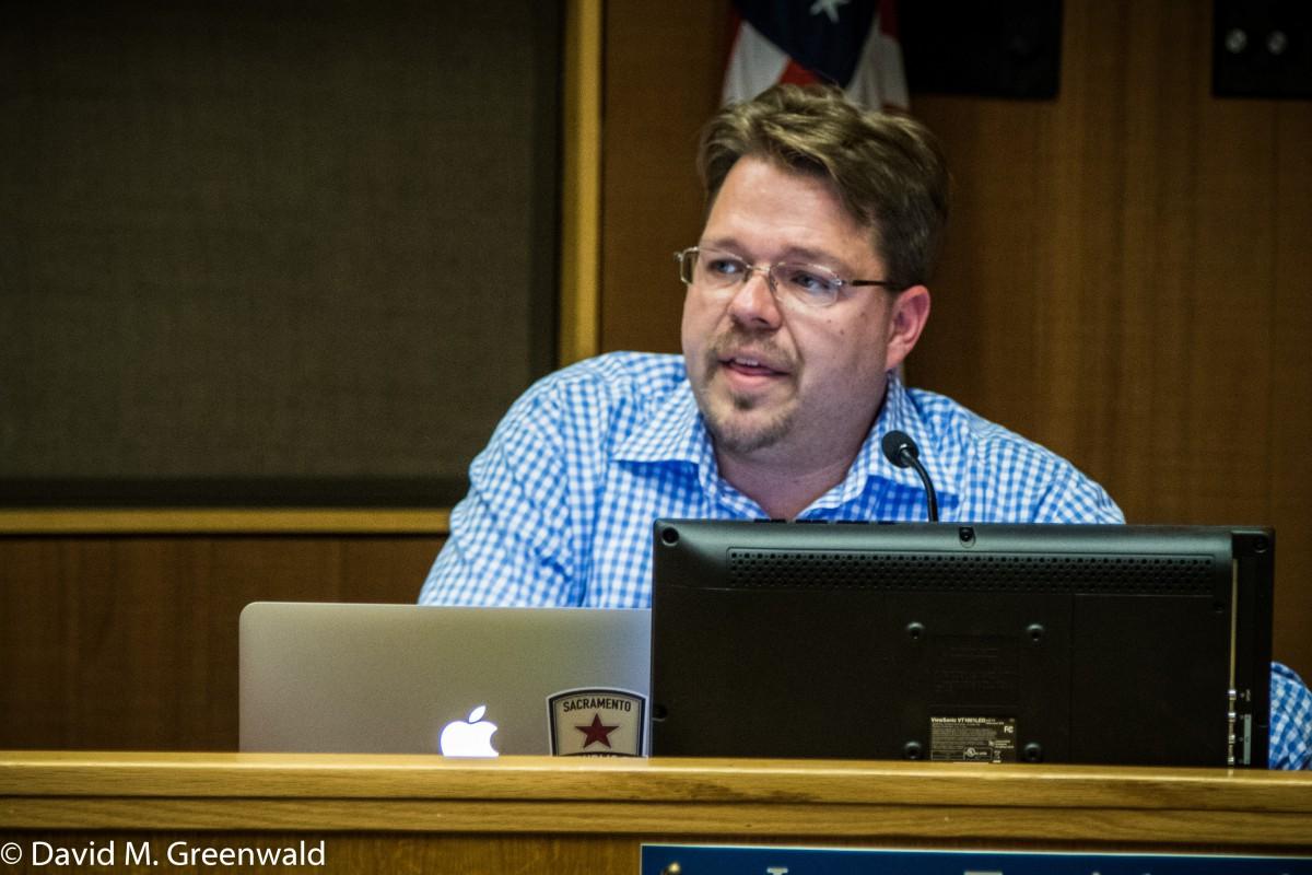Councilmember Lucas Frerichs