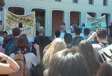 Mrak Hall Occupation Continues with March and Press Conference