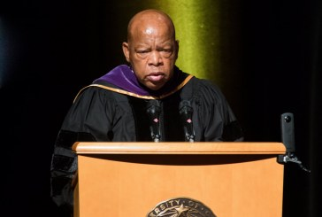 Civil Rights Hero John Lewis Gives Commencement Address for UCD Law