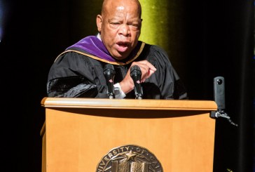 When John Lewis Spoke at UC Davis Law Commencement
