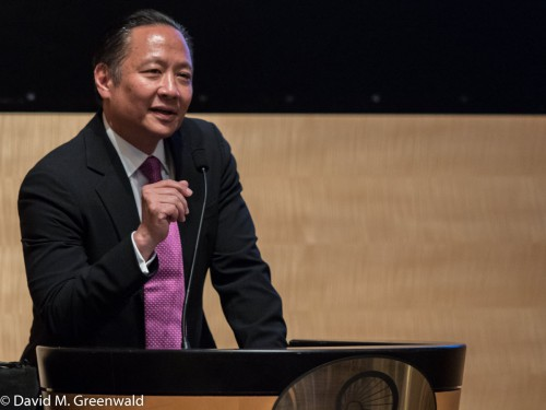 San Francisco Public Defender Jeff Adachi speaks at last week's Justice Summit