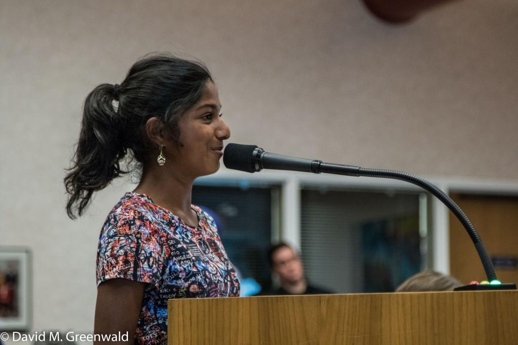 8th Grader Anushka Chander