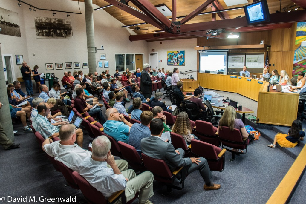 A full house on Wednesday as Bill Habicht gives his presentation