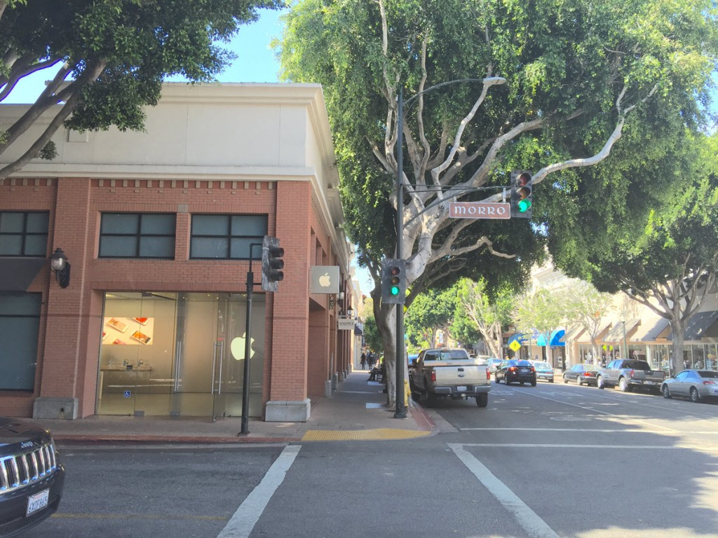 Apple Store in downtown SLO