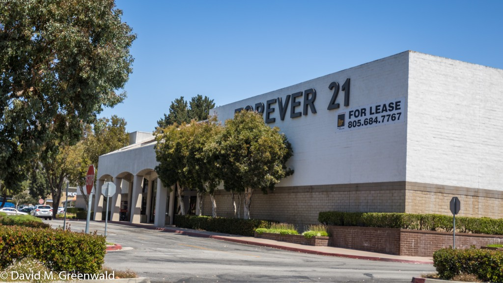 Forever 21 had a huge space it inherited from Gottschalks and is now gone