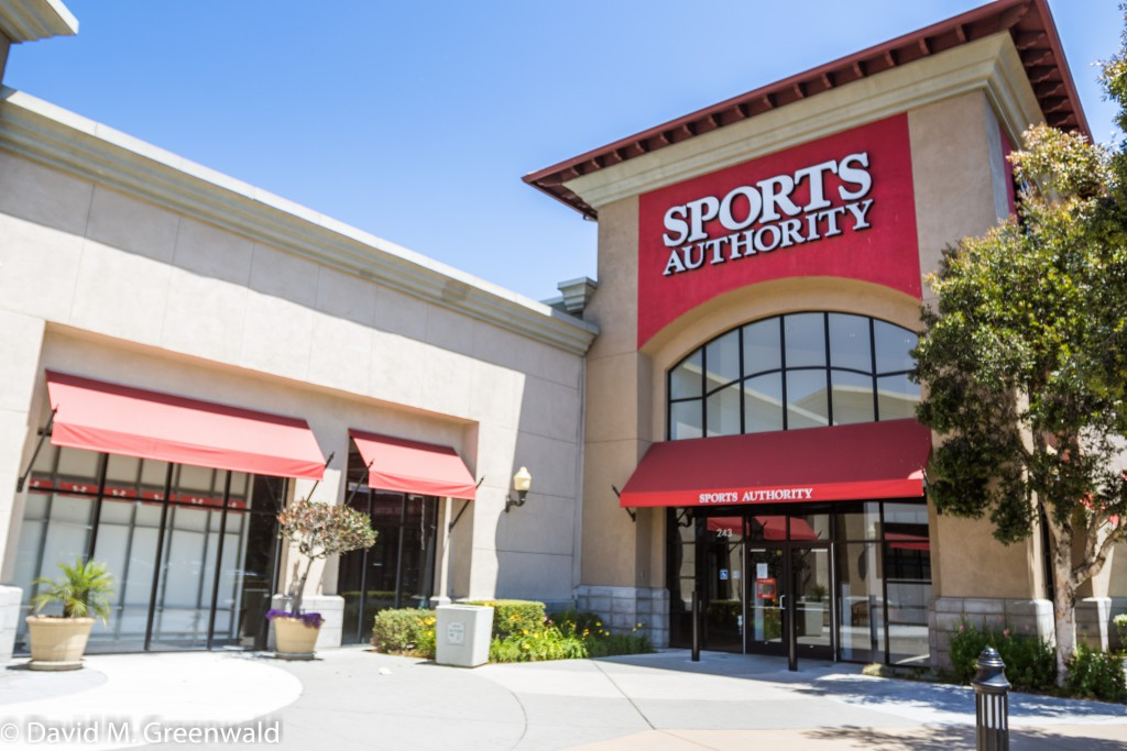 Sports Authority occupied a huge space and is gone