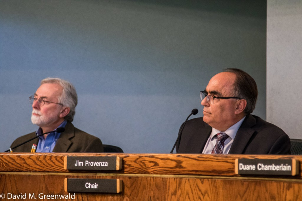 Board Chair Jim Provenza with Supervisor Don Saylor