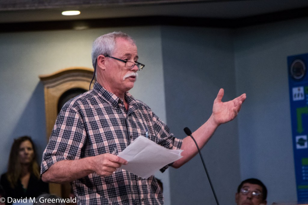 Bruce Rominger presents some of the opposition's viewpoints