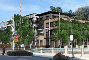 Revised Trackside Project Features Four-Story Proposal