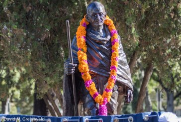 Sunday Commentary: The Legacy of Gandhi in Davis Toppled
