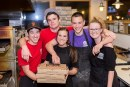 Woodstock's Pizza Raises $1,817 for Local Charities