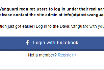 Vanguard Commenters Stop Fearing the Facebook Log In