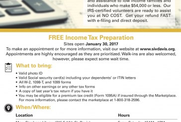 FREE Tax Assistance Services from Davis Students in VITA