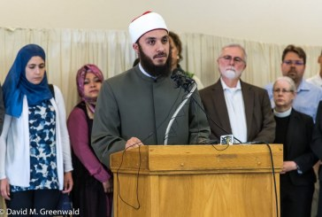 Imam Apologizes At Press Conference As Faith Community and Local Leaders Look On