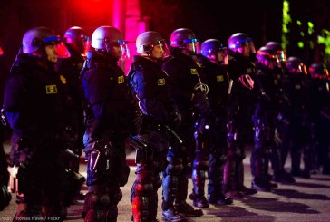On Third Anniversary of Ferguson, President Supports Further Militarization of Police