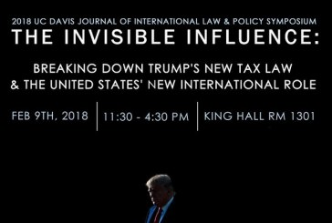 UCD Law Symposium: the Invisible Influence