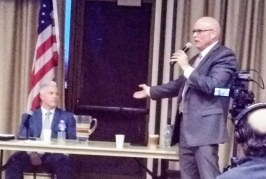District Attorney Debate Wednesday: Sparring, Some Glancing Blows