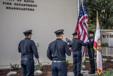 Firefighters and City Officials Commemorate the 17th Anniversary of the 9/11 Attacks