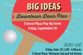 Downtown Davis Plan – E Street Plaza Pop-Up Event