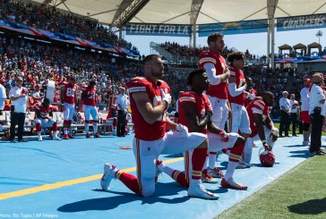 An Account of the NFL Players' Take-a-Knee Movement