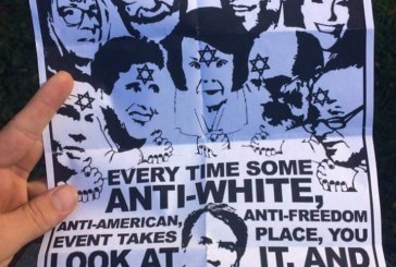 Anti-Semitic Flyer Found on Campus