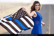 Flag Image of Corona Triggers Debate over Thin Blue Line Flag