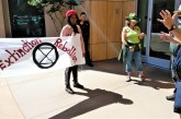 Extinction Rebellion Disrupts State Capitol, Big Oil Lobby Monday for Passage of Environmental Laws