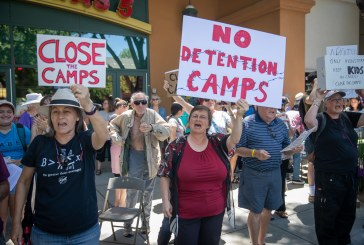 300 Come to Davis to Demand Garamendi Help Close the Camps
