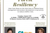 Davis Chamber of Commerce to Host Forest Resiliency Luncheon