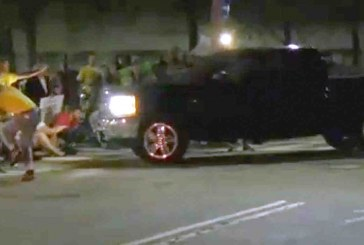 Corrections Officer Drives into Crowd of Protesters with Pickup Truck, Resigns