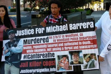 Rally at U.S. Court in Sacramento Difficult for Family of Man Who Died after Woodland Police Tasered, Beat Him