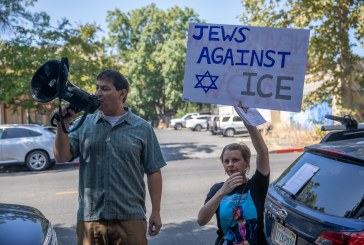 Protesters Call for De-Funding ICE, Garamendi District Director Calls for Quiet