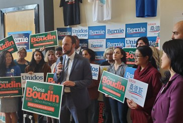 Chesa Boudin Announces Major Endorsement from Senator Bernie Sanders