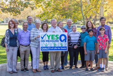 Sales Tax Campaign – Measure Q – Kicks Off with a Press Conference in the Park