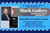 Vanguard 10th Annual Event – Keynote Speaker: Mark Godsey, Ohio Innocence Project – August 13