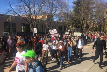 UCD Students March in Solidarity with Over 200 UCSC Graduate Students to Be Terminated from COLA Protest