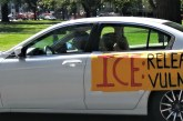 CA ICE Detention Centers Could Turn into COVID-19 'Death Camps,' Warn Capitol Car Protestors