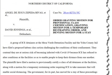 Federal Court Considers Releasing ICE Detainees from Mesa Verde, Yuba County Detention Centers; Criticizes Government's Inaction
