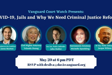 VANGUARD'S COVID-19 & JAILS WEBINAR: Lawyers Paint Dark Picture of the 'Virus' and Jails from Coast to Coast